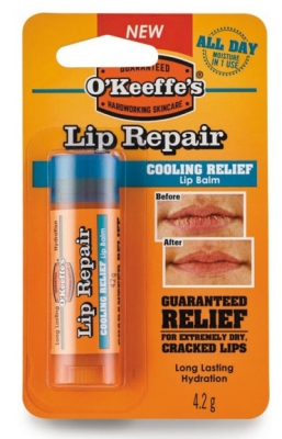 O Keeffe's lip repair verkoelend effect
