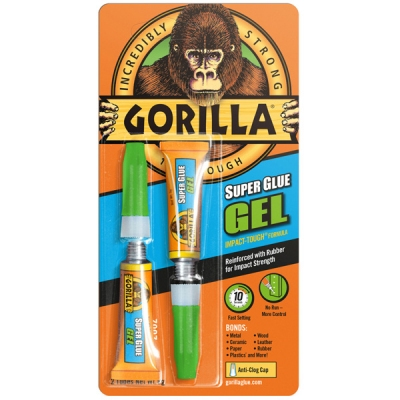 Gorilla Superglue gel 2 keer 3 gram
