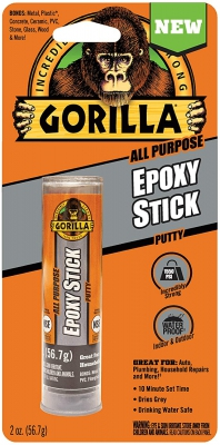 Gorilla Glue epoxy stick - putty klei